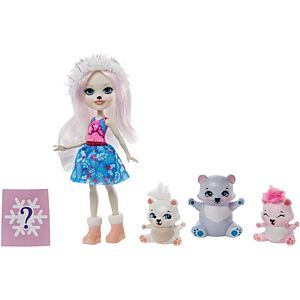 Enchantimals™ Pristina Polar Bear™ Doll & Family