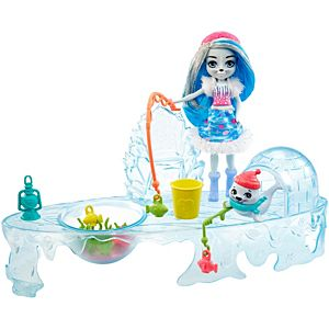 Enchantimals™ Fishing Friends™ With Sashay Seal™ & Blubber™ Dolls