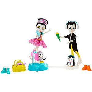 Enchantimals™ Darling Ice Dancers™ With Patterson Penguin™ & Tux™ Dolls