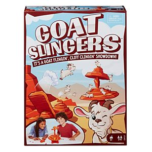 Goat Slingers™ Kids Game with Cliff Tower and Launcher for 5 Year Olds and Up