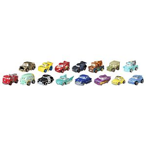 Disney Pixar Cars Mini Racers Variety 15-Pack