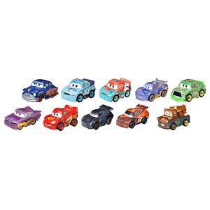 Disney Pixar Cars Mini Racers Racer Series 10-Pack