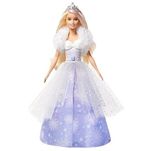 Barbie™ Dreamtopia Fashion Reveal Princess Doll, 12-inch, Blonde with Pink Hairstreak