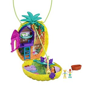 Polly Pocket™ Polly™ & Lila™ Tropicool™ Pineapple Wearable Purse Compact