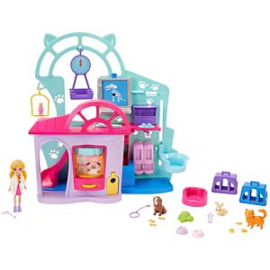 Polly Pocket™ Cuddle & Care Pet Vet™ Playset