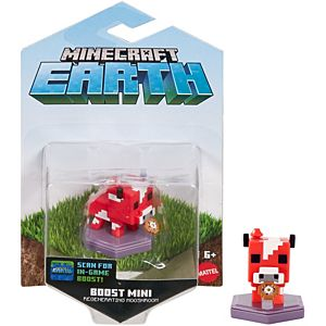 Minecraft Earth Boost Mooshroom with Stew Figure, NFC Chip Enabled for Earth Augmented Reality Game
