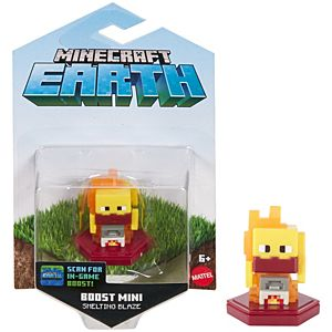 Minecraft Earth Boost Smelting Blaze Figure, NFC Chip Enabled for Earth Augmented Reality Game