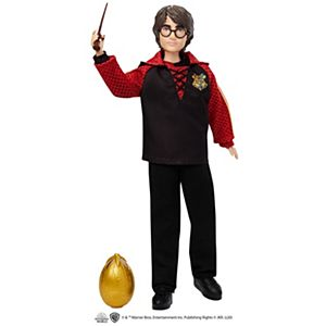 Harry Potter™ Collectible Triwizard Tournament Doll, 10.5-inch with Wand and Golden Egg Accessory