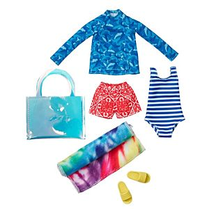 Creatable World™ Summer Style Pack, 6-Piece Fashion Set with Swimsuit Outfit and Accessories