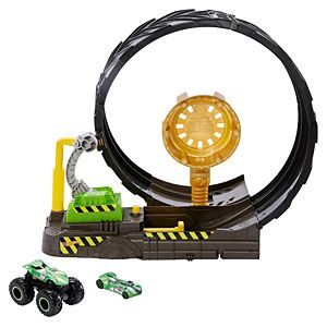 Hot Wheels® Monster Trucks Epic Loop Challenge™ Play Set with Truck and Car