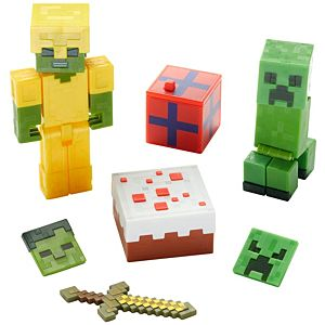Minecraft Comic Maker 10th Celecration Mob 2-Pack