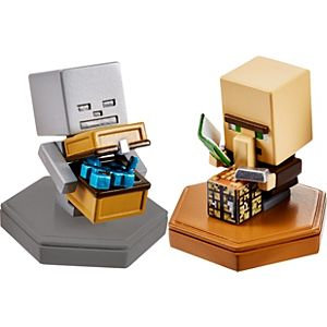 Minecraft Earth Boost Mini Figure 2-Pack, NFC-Chip Enabled for Earth AR Game