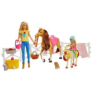 Barbie® Hugs N Horses Dolls, Horses and Accessories