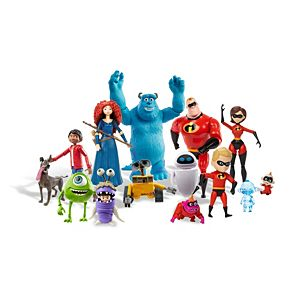 Pixar Action Figures Movie Character Toys for Kids Ages 3 Years & Older