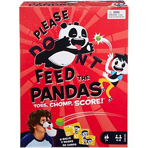 Please Feed the Pandas Kids Game with Panda Masks, for 7 Year Olds and Up