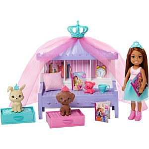 Barbie® Princess Adventure™ Chelsea™ Princess Doll and Storytime Playset