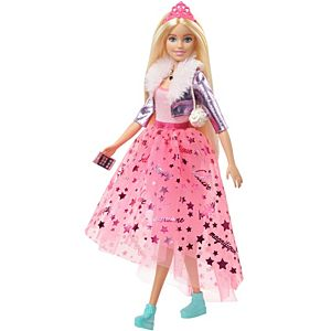 Barbie® Princess Adventure™ Doll in Princess Fashion (12-inch) with Puppy, 3 to 7 Years