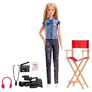 Barbie® Film Director Playset with Doll, Chair, Camera and Accessories