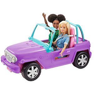 Barbie® Off-Road Vehicle with Rolling Wheels