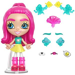 Lotta Looks™ Weather Girl™ Doll with 10+ Plug/Play Pieces