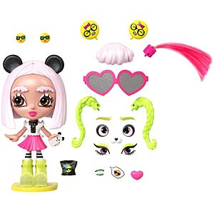 Lotta Looks™ Panda Cool™ Doll with 20+ Plug/Play Pieces for 300+ Style Combinations