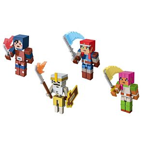 Minecraft Dungeons 3.25-in Collectible Battle Figure and Accessories