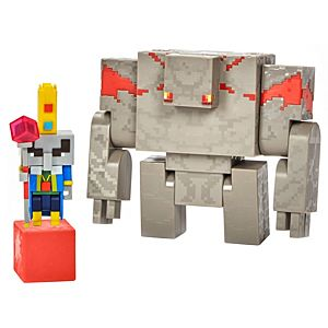 Minecraft Dungeons Illiager & Golem Figures