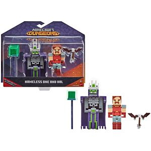 Minecraft Dungeons Nameless One & Hal Figures