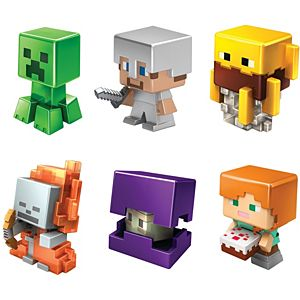 Minecraft Mini-Figures 6-Pack Figures