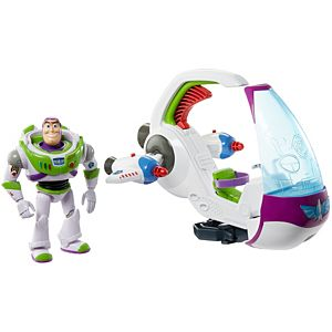 Disney Pixar Toy Story Galaxy Explorer Spacecraft, AMAZON EXCLUSIVE (SIOC)