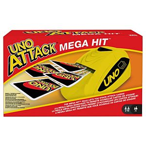 Uno Attack™ Mega Hit™ Card Game for Players 7 Years Old and Up