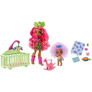 Cave Club™ Wild About Babysitting™ Playset with 2 Dolls and Accessories