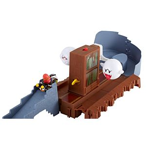 Hot Wheels® Mario Kart Boo's Spooky Sprint Track Set