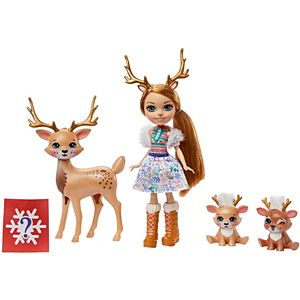 Enchantimals™ Rainey Reindeer™ Doll & Family