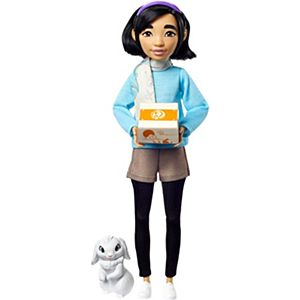 Netflix's Over The Moon Fei Fei Doll with Bungee Figure