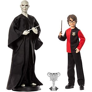 Harry Potter™ Lord Voldemort™ And Harry Potter™ Dolls