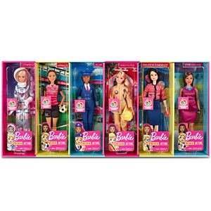 Barbie® 60th Anniversary Careers Dolls Limited Edition Bundle