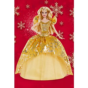 2020 Holiday Barbie® Doll, Blonde Long Hair