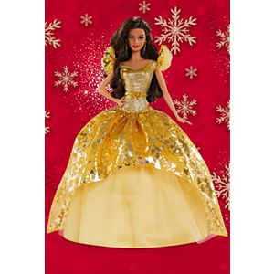 2020 Holiday Barbie® Doll, Brunette Long Hair
