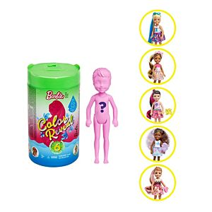 Barbie® Color Reveal™ Chelsea™ Doll with 6 Surprises Including detachable Ponytail