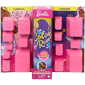 Barbie® Day-to-Night Color Reveal™ Doll with 25 Surprises & Day-to-Night Transformation