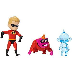 Disney Pixar The Incredibles Dash & Jack-Jack Figures
