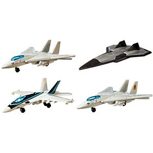 Matchbox® Sky Busters® Top Gun Legends: Past and Present™ 4-Pack