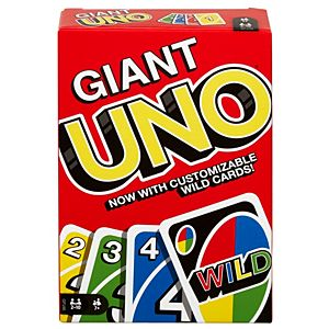 Giant UNO™ Family Card Game with 108 Oversized Cards