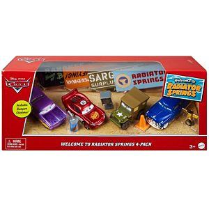 Disney Pixar Cars Welcome to Radiator Springs 4-Pack