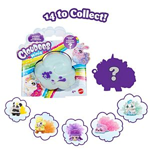Cloudees™ Minis Collectible Figure 4-Pack Collection