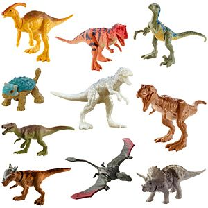Jurassic World Camp Cretaceous Mini Dino 10-Pack