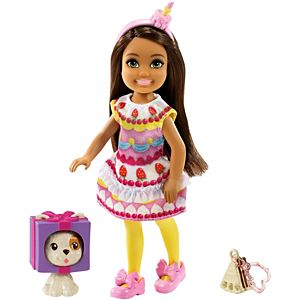 Barbie® Club Chelsea™ Dress-Up Doll (6-inch) in Cake Costume