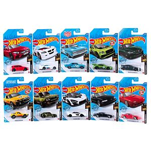 Hot Wheels® Nightburnerz™ Vehicle 10-Pack