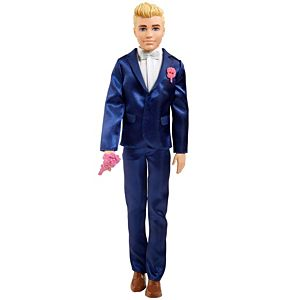 Barbie® Fairytale Ken™ Groom Doll (Blonde 12-inch) Wearing Suit